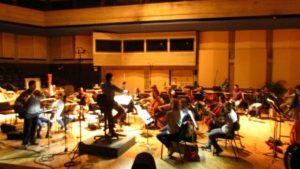 Gravação com a Orquestra Sinfônica da Venezuela com participação do flautista James Strauss