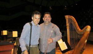 James Strauss e o Maestro Alfonso Lopez